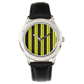 Abeja coloreada reloj