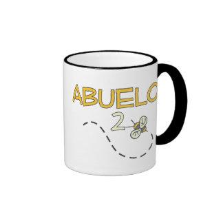 Abeja de Abuelo 2 Tazas De Café
