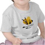 Abeja de Athena Camisetas