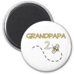Abeja de Grandpapa 2 Iman De Frigorífico