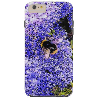 Abeja de la flor de Ceanothus Funda De iPhone 6 Plus Tough