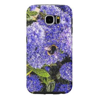 Abeja de la flor de Ceanothus Fundas Samsung Galaxy S6