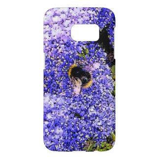 Abeja de la flor de Ceanothus Fundas Samsung Galaxy S7