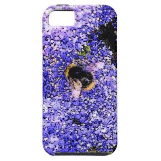 Abeja de la flor de Ceanothus iPhone 5 Carcasa