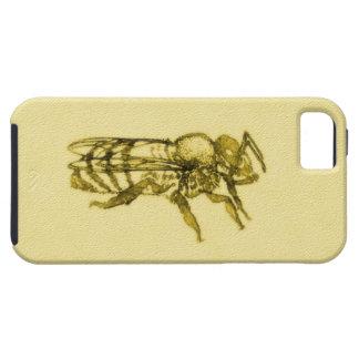 Abeja de la miel de la acuarela iPhone 5 carcasas
