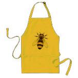 Abeja de la miel delantal