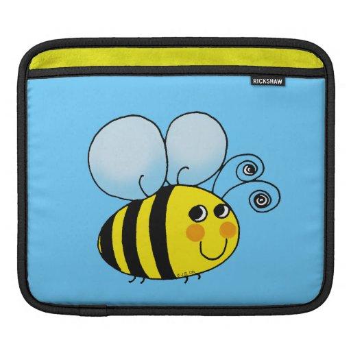 abeja de la miel funda para iPads