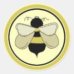 Abeja de la miel pegatina