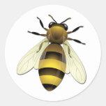 Abeja de la miel pegatinas