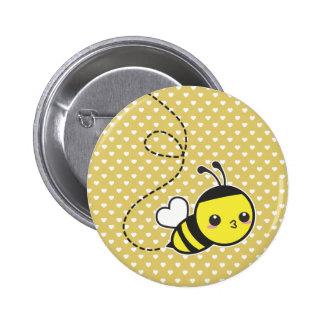 Abeja de la miel pins