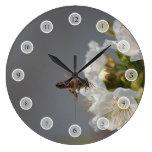 Abeja de la miel relojes de pared