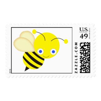 Abeja de la miel sello