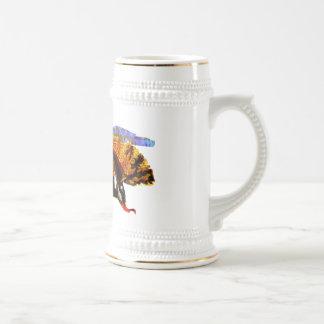 Abeja de la miel taza