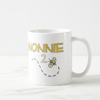 Abeja de Nonnie 2 Taza De Café