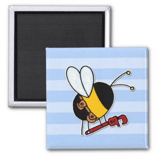 abeja de trabajador - fontanero imanes