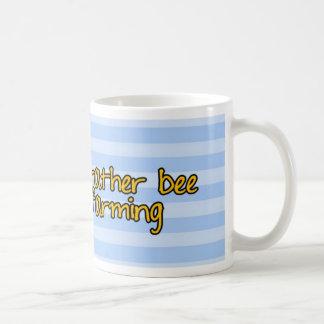 abeja de trabajador - granjero taza de café