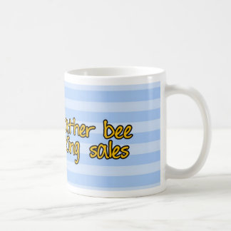 abeja de trabajador - vendedor taza de café