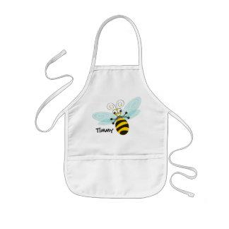 Abeja de Wing-Nutz™_Bumble (zumbido) _personalized Delantal Infantil