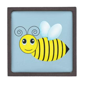 Abeja de zumbido linda de la miel cajas de recuerdo de calidad