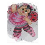 abeja del bailarina tarjetas postales