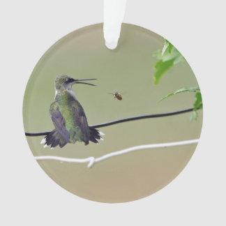 Abeja del colibrí y de la miel
