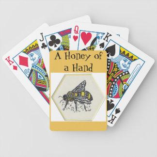 Abeja del Doodle Baraja Cartas De Poker