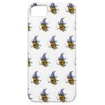 abeja del mago 3d (fondo editable!) iPhone 5 Case-Mate carcasa