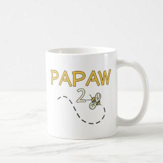 Abeja del Papaw 2 Tazas