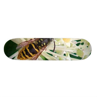 Abeja en naturaleza patines personalizados