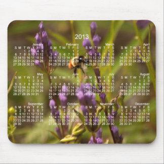 Abeja enérgica; Calendario 2013 Alfombrilla De Ratón