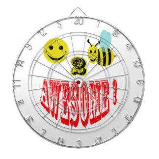 abeja feliz 2 impresionante tablero de dardos