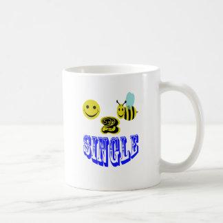 abeja feliz 2 sola taza clásica