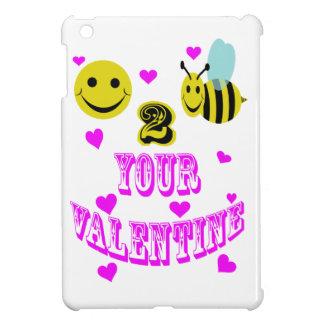 Abeja feliz 2 su tarjeta del día de San Valentín