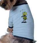 Abeja feliz de la madre camisetas de perro