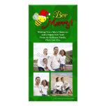 Abeja feliz, día de fiesta lindo del abejorro tarjetas fotograficas personalizadas