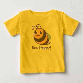 ¡Abeja feliz! Manosee la abeja Playera De Bebé