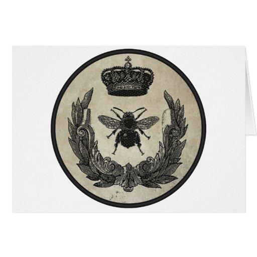 Abeja imperial tarjetas