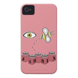 Abeja Jammin del ojo iPhone 4 Case-Mate Carcasas