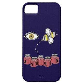 Abeja Jammin del ojo iPhone 5 Fundas