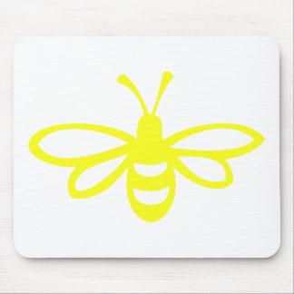 Abeja [limón] mousepads
