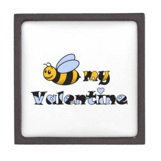 Abeja mi tarjeta del día de San Valentín Caja De Joyas De Calidad