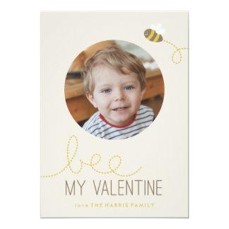 Abeja mi tarjeta del el día de San Valentín de Comunicados