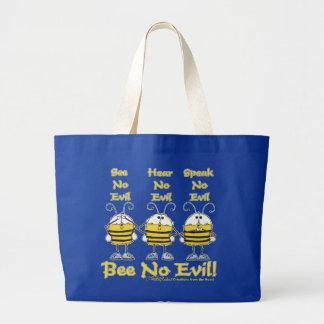 """Abeja ningunas"" abejas malvadas Bolsa De Mano"