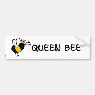 abeja reina pegatina para auto