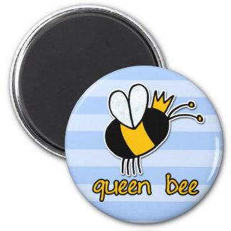 abeja reina imán para frigorifico