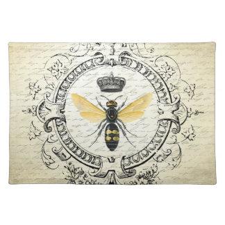 abeja reina moderna del francés del vintage manteles
