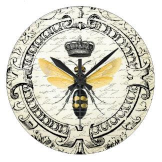 abeja reina moderna del francés del vintage relojes de pared