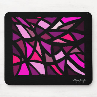 Abeja reina púrpura tapetes de ratones
