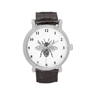 Abeja reina relojes de pulsera