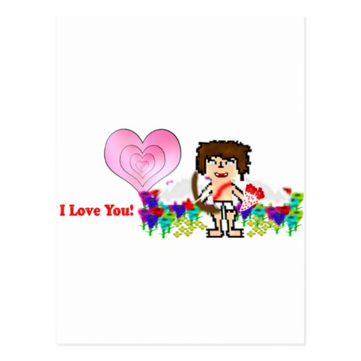 Abeja: Te amo Tarjetas Postales